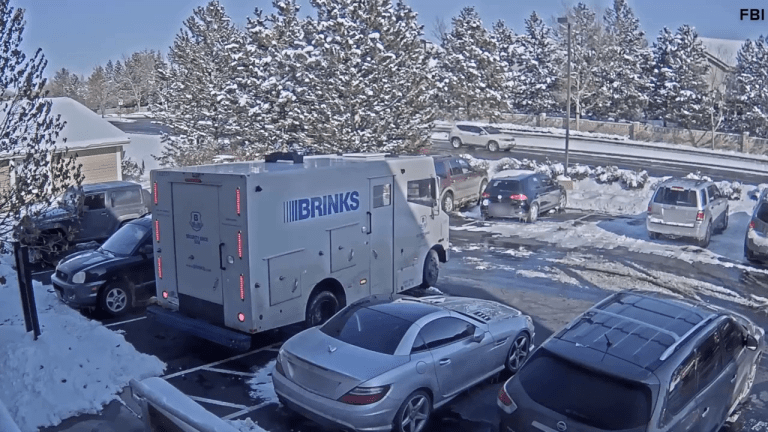 VIDEO: BRINKS ARMORED TRUCK ROBBERY, NEARLY $1 MILLION STOLEN, GUARD GETS FIRED