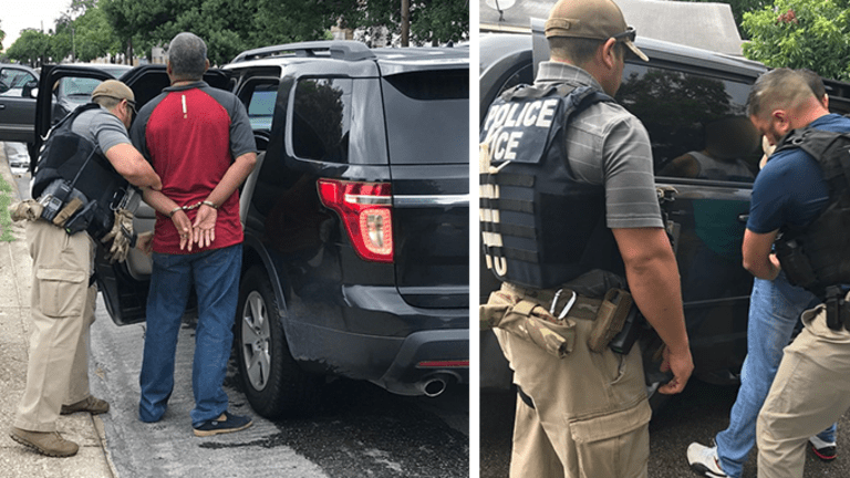 ICE ARRESTS 52 ILLEGAL IMMIGRANTS DURING RAIDS IN TEXAS