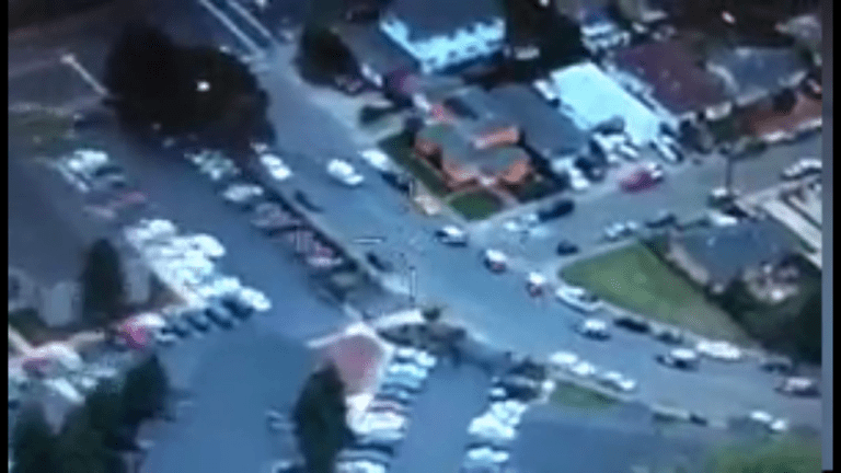 VIDEO: MAN KILLED AFTER RUNNING OVER COP WITH VAN HEAD ON
