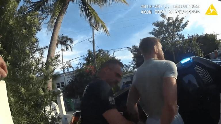 VIDEO SHOWS CONNOR MCGREGOR GETTING ARRESTED