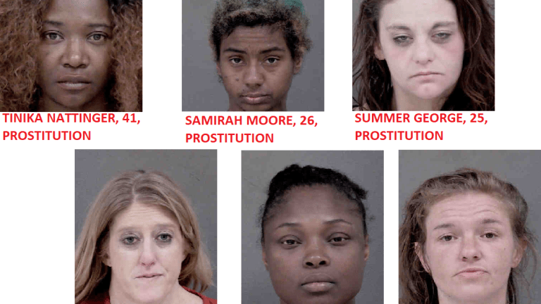 SEVERAL WOMEN ROUNDED UP IN PROSTITUTION STING