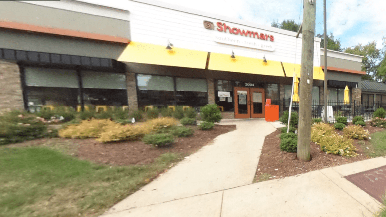 SHOWMARS RESTAURANT GETS 87.50 HEALTH SCORE, HAD RUSTED SHELVES AND CARTS