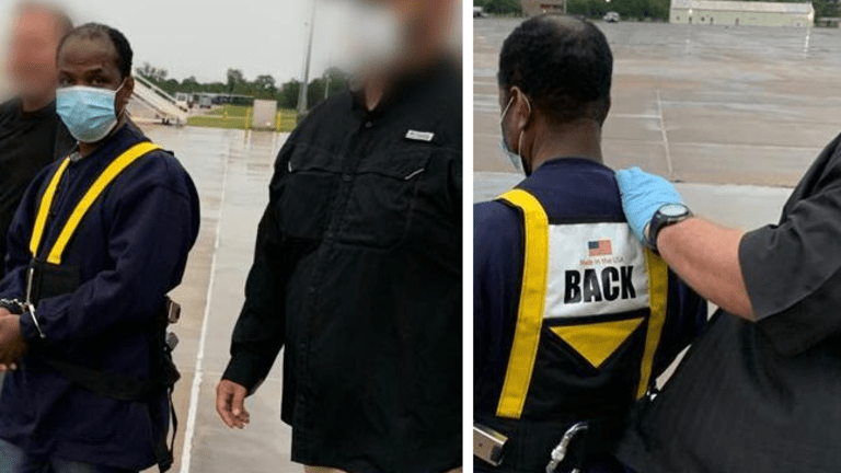 ICE DEPORTS LIBERIAN SECURITY FORCES COMMANDER