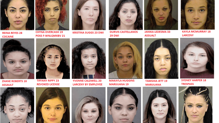 MISS JAIL HOUSE 2018? CUTIES IN JAIL WITH A MUG SHOT