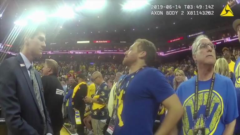 VIDEO: OUT OF CONTROL DEPUTY PUSHES NBA TORONTO RAPTORS TEAM PRESIDENT