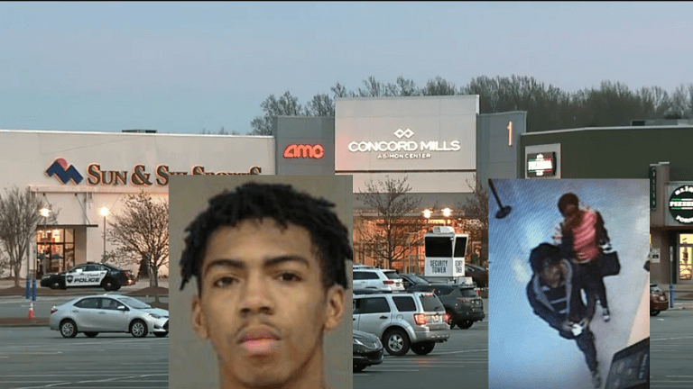 TEENAGER ARRESTED IN VIOLENT CONCORD MILLS MALL SHOOTING