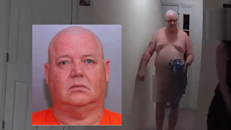 VIDEO: NAKED DISNEY WORLD SECURITY GUARD BUSTED IN PROSTITUTION STING