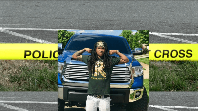 YOUNG FATHER MURDERED WHILE DRIVING HIS VEHICLE