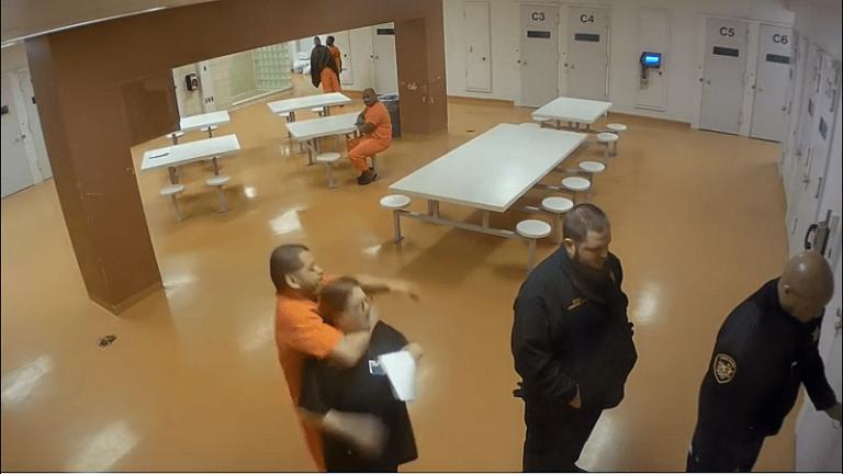 VIDEO: INMATE CHOKES JAIL NURSE FOR NOT GIVING HIM SLEEP MEDICATION