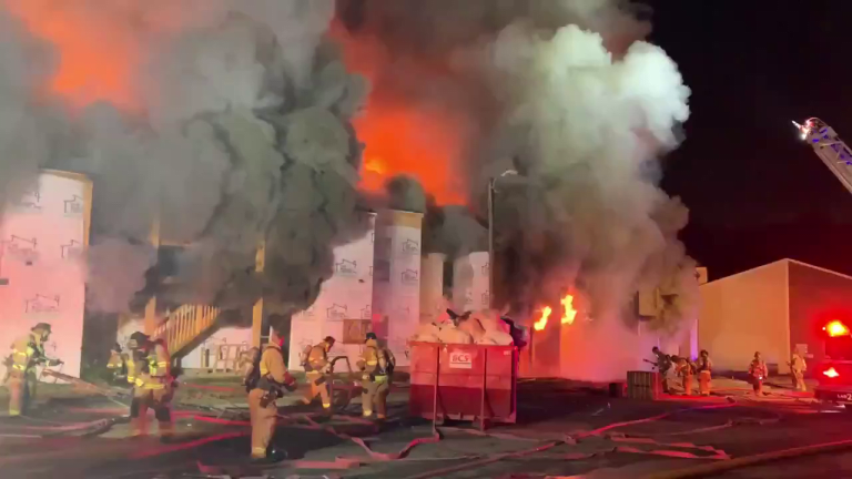 VIDEO: INTENSE APARTMENT FIRE ON ALBERMARLE ROAD