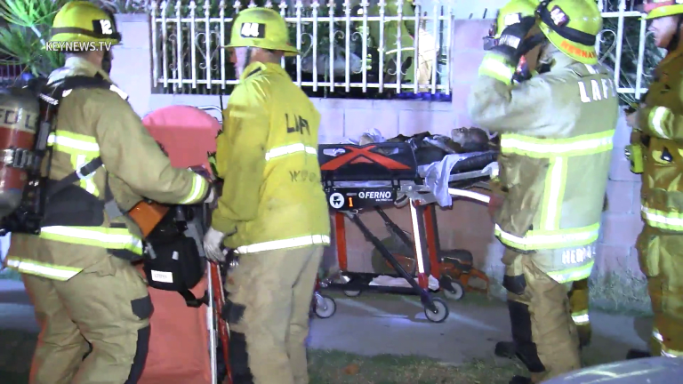 Male in Critical Condition From Cypress Park House Fire