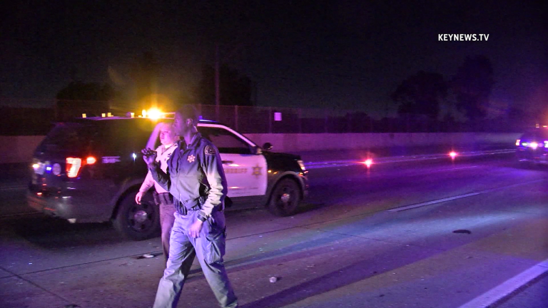 Man Struck by Vehicle and Killed After Walking on EB I-105