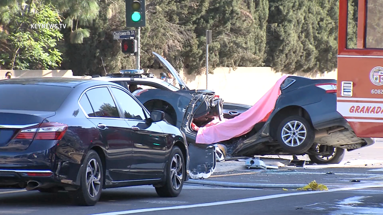 Driver Killed in Two-Vehicle Collision in Porter Ranch