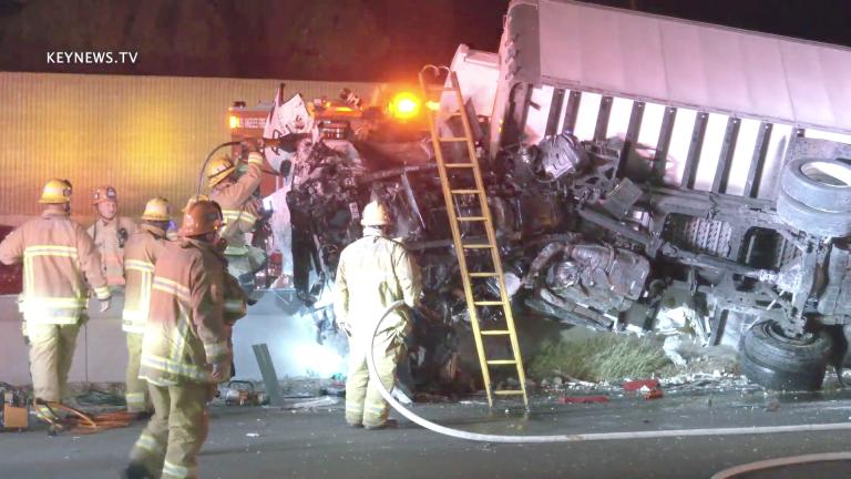 Sherman Oaks 101 Freeway Fatality Traffic Collision (GRAPHIC)