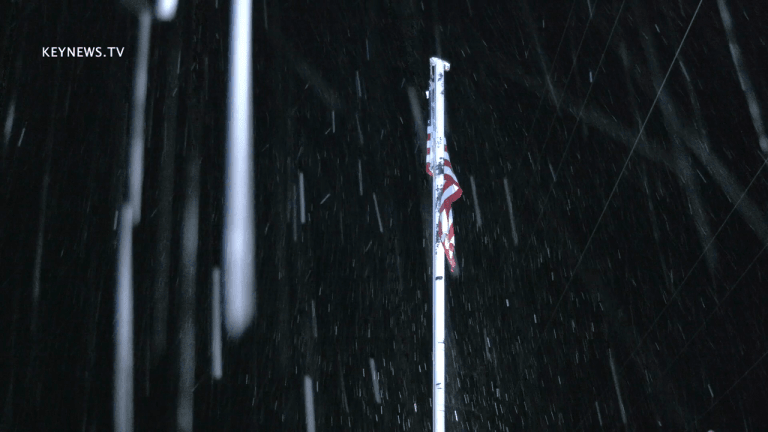 Heavy Morning Snow Blankets Frazier Park in Kern County