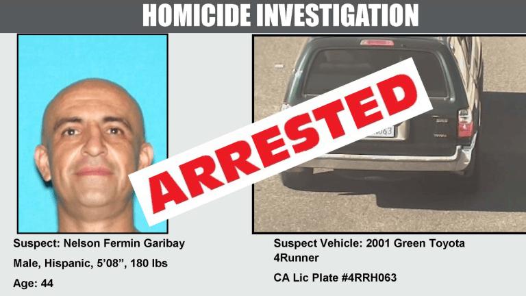 LASD Announces Arrest of Double Murder Suspect Garibay