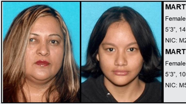 Sheriff's Department Seeking Public's Help in Locating Missing Females