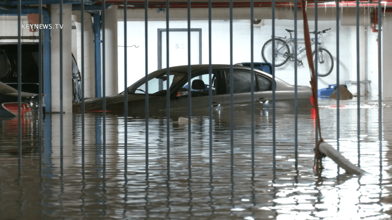1 Person Rescued, Parking Garage Flooded in Pacific Palisades Water Main Break