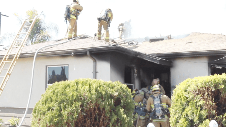 Sun Valley Structure Fire