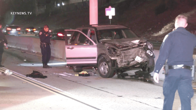 1 Dead, 1 Critical in North Hollywood 170 Freeway Traffic Collision (GRAPHIC)