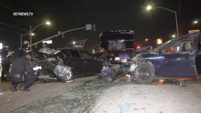 Westmont Party Bus Crash Possibly Intentional