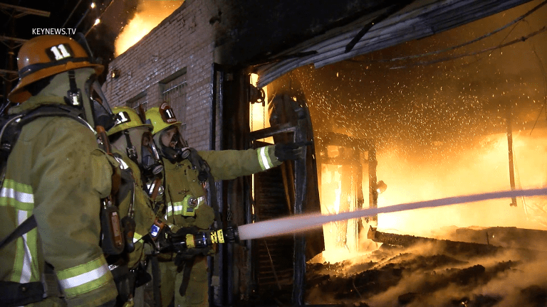 Pico-Union Greater Alarm Structure Fire