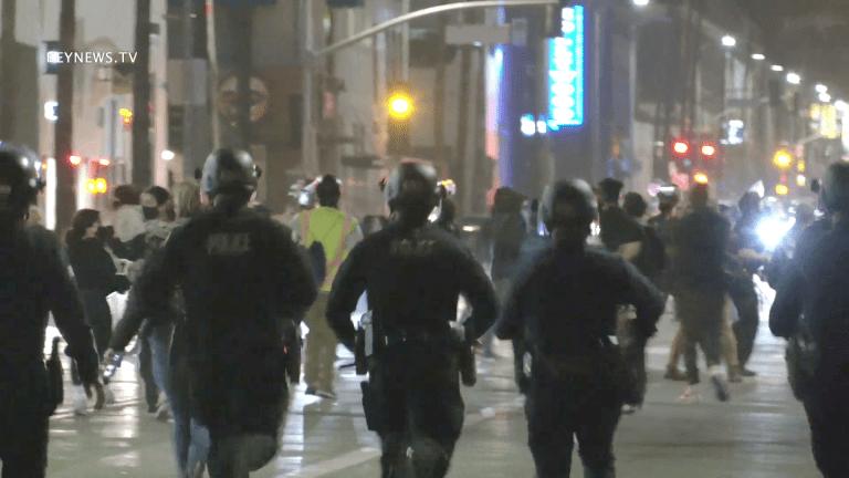 Black Lives Matter Memorial / Protest in Hollywood