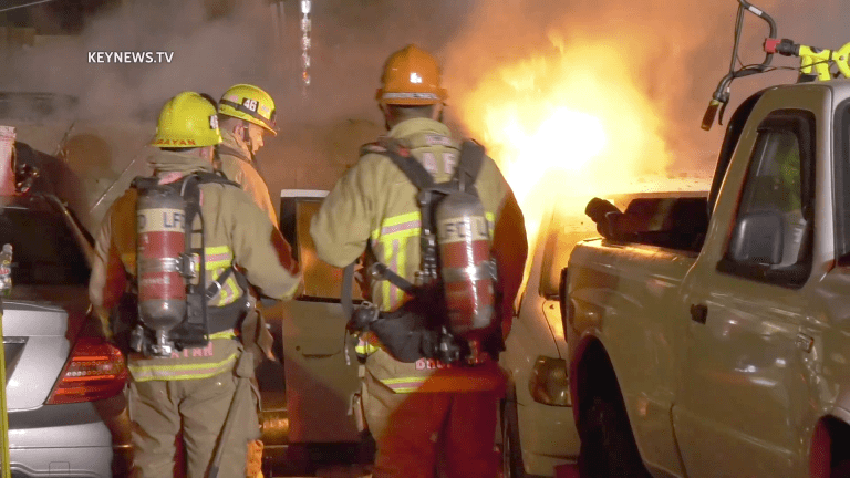 Pole Fire Ignites Vehicle Fire in Vermont Square