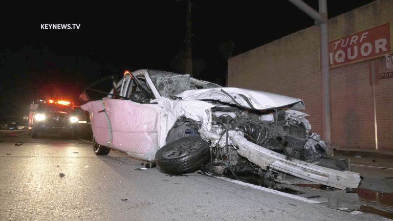 5 People Critically Injured in Whittier 2-Vehicle Collision