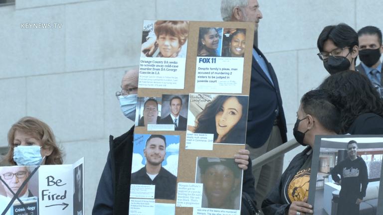 Los Angeles Sheriff Villanueva Speaks at DA Gascon Recall Rally