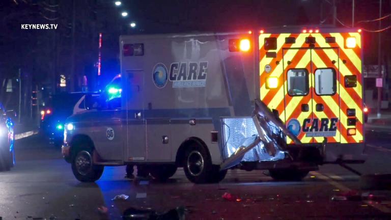 CARE Ambulance Collision in Pomona