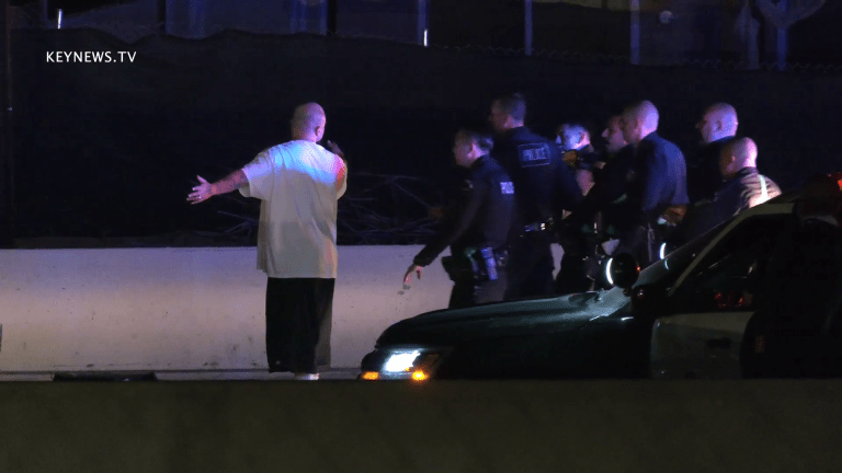 Hours Long Pursuit Ended Peacefully with Suspect in Custody