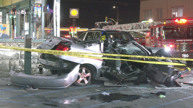 1 Killed in North Hollywood Multi-Vehicle Collision