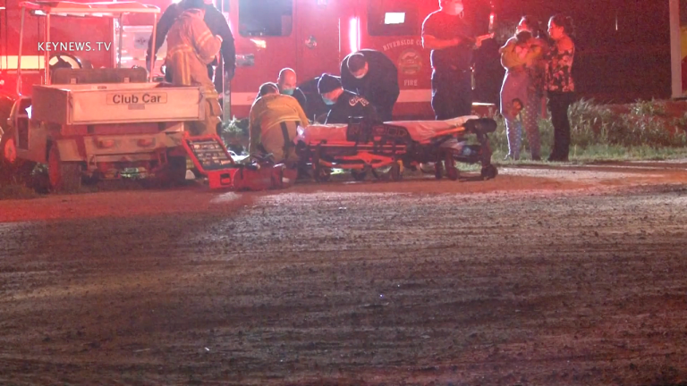 One Seriously Injured in Menifee Golf Cart Rollover