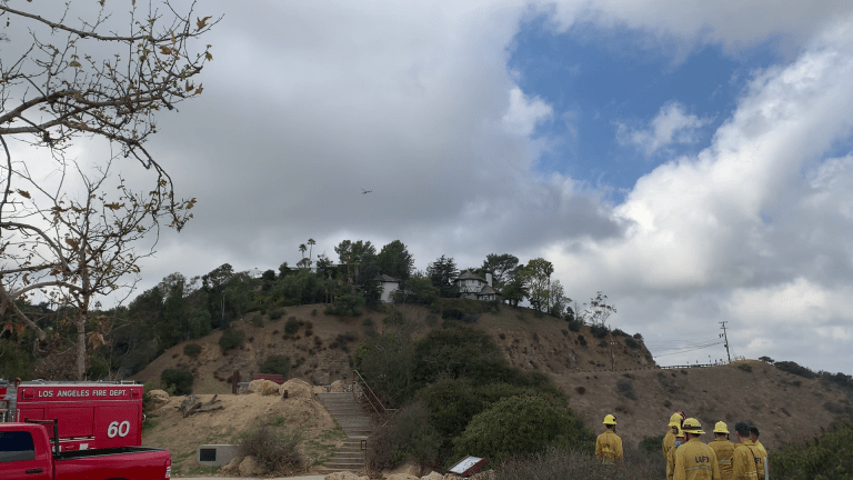 Injured Hiker in Fryman Canyon Park Transported by Helicopter to Trauma Center