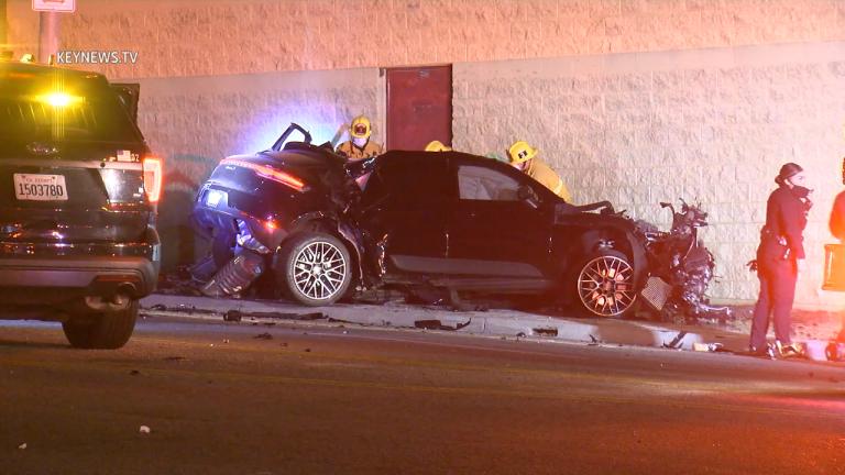 DTLA Solo Vehicle Collision Kills Male