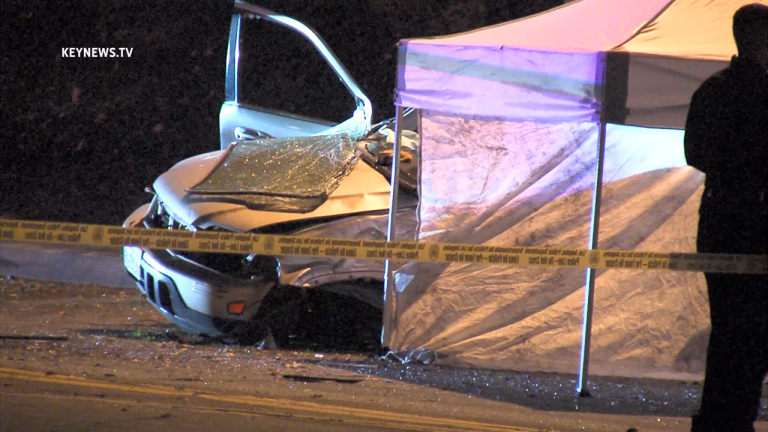 Stolen Vehicle Pursuit Ends in Crash with Driver Fatality