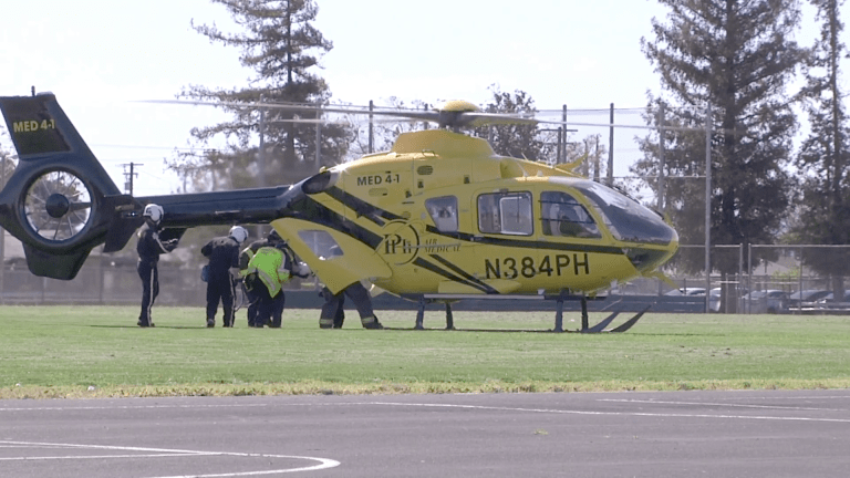 Teen Airlifted After Bicycling Accident in Modesto