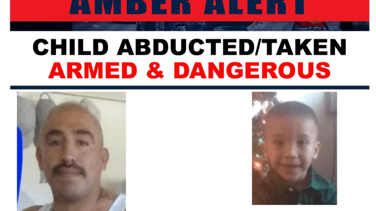 Child Abducted in Kern County Located After Amber Alert Issued