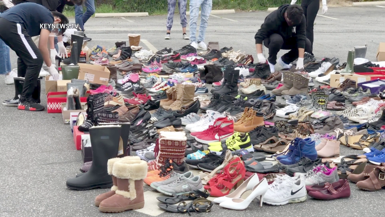 Bee The Hope Shoe Drive for the Homeless