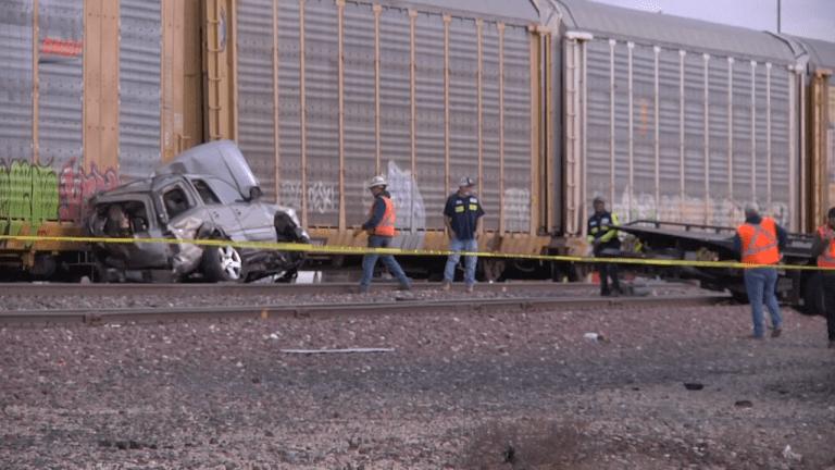 Vehicle vs Train Near Modesto