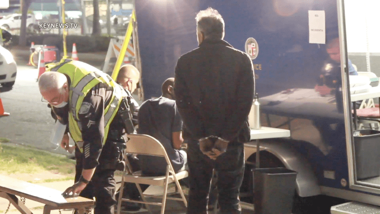 3 Arrested at License / Sobriety Checkpoint in Canoga Park