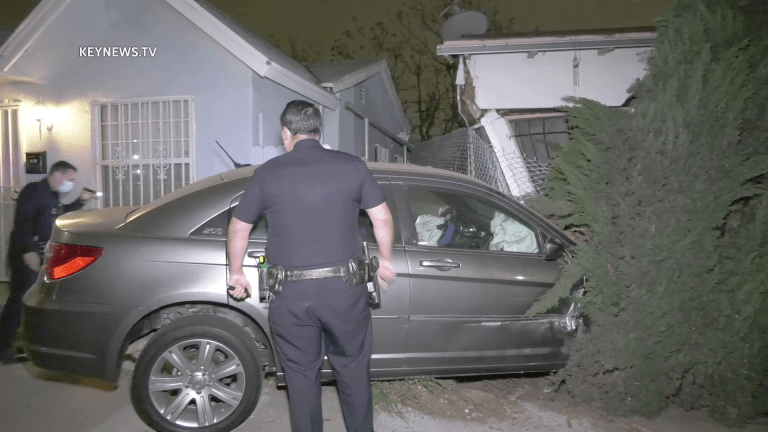 Vehicle Crashes into Broadway-Manchester Home