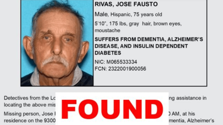 Sheriff's Department Seeking Public's Help in Locating At-Risk Missing Person