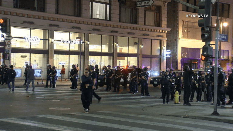 Dodgers World Series Victory Celebration Sparks Looting, Arson in DTLA