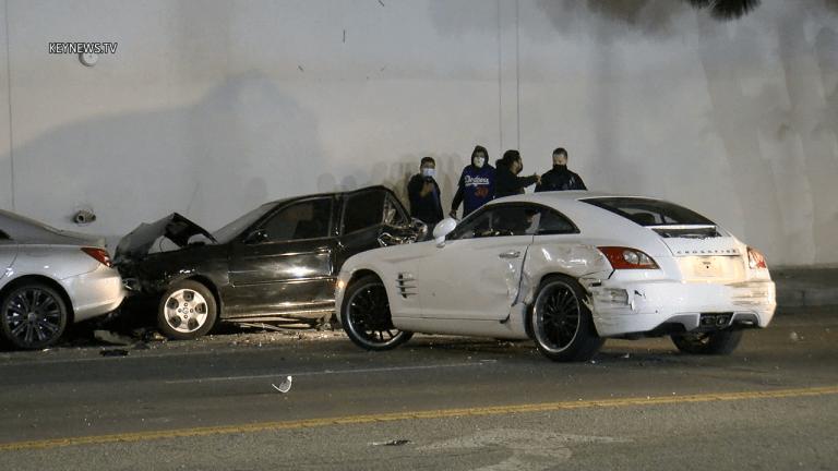 Motorcyclist Shoots Car Driver, Causes Crash
