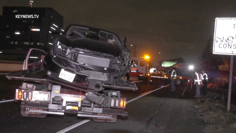 Wrong Way Driver Causes 3-Vehicle Collision on 405 Freeway