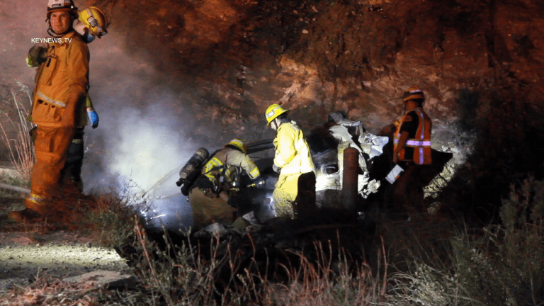 Fatal Collision on North Sierra Highway in Santa Clarita