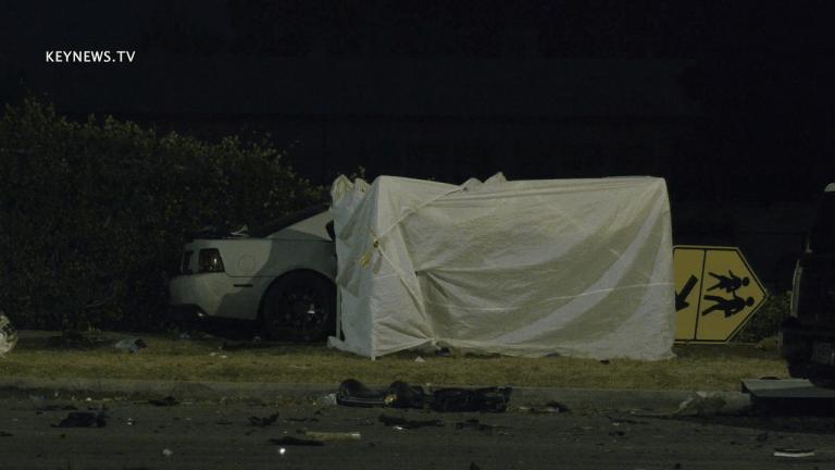 Fatal Traffic Collision on Sherman Way in Van Nuys
