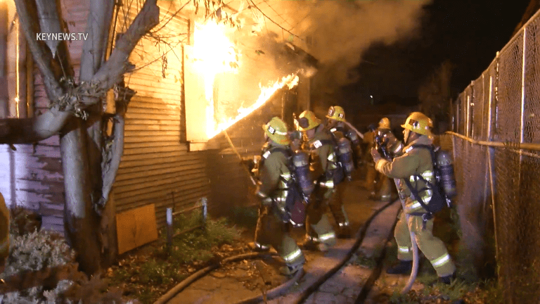 South Park Vacant Home Burns for Second Time